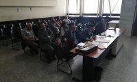 Los procesados del caso Cooptación.  (Foto Prensa Libre: Kenneth Monzón)