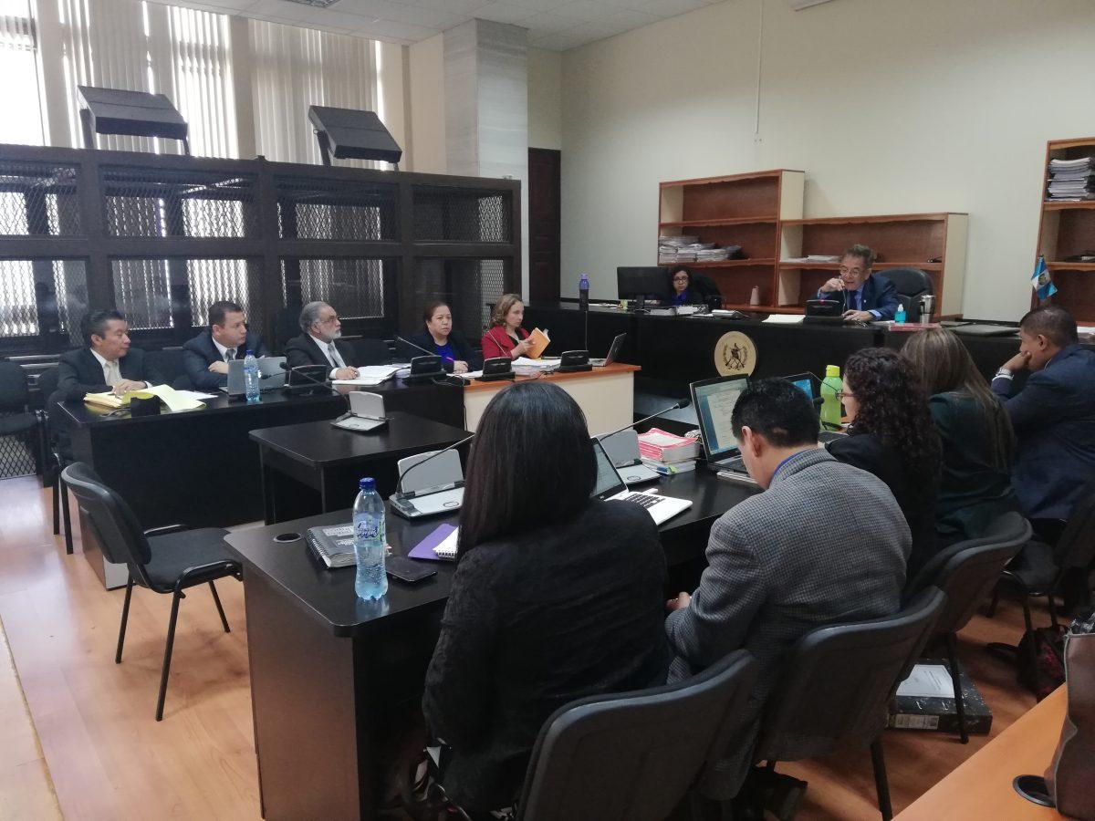 Fiscal describe los hechos a procesados por financiamiento electoral ilícito en el caso Cooptación