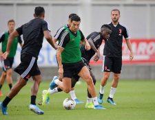 Cristiano Ronaldo se entrenó con normalidad con la Juventus. (Foto Juventus FC).