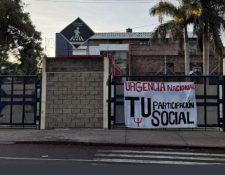El Centro Universitario Metropolitano (CUM) se sumó a la protesta sancarlista. (Foto Prensa Libre: Hemeroteca PL)