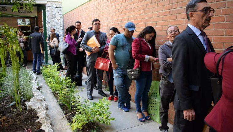 Los jueces no se podrán postular a magistrados de Corte Suprema de Justicia. (Foto Prensa Libre: Hemeroteca PL)