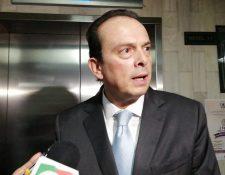 Diputado Juan José Porras asegura su inocencia en el caso Subordinación del Organismo Legislativo al Ejecutivo. (Foto Prensa Libre: Kenneth Monzón)
