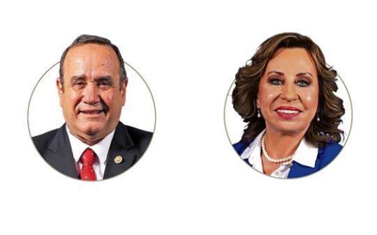Ventajas y desventajas de Alejandro Giammattei y Sandra Torres