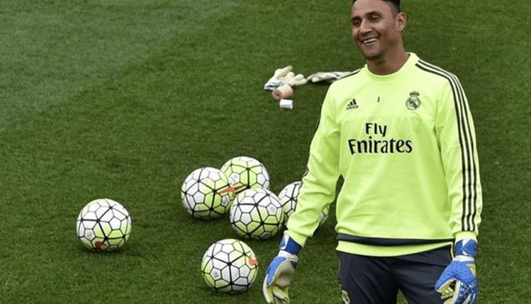 Keylor Navas se entrena con normalidad con el Real Madrid a la espera de resolver su futuro