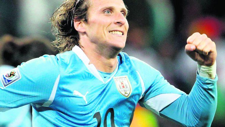 Diego Forlán es considerado un ícono del futbol uruguayo. (Foto Prensa Libre: Hemeroteca PL