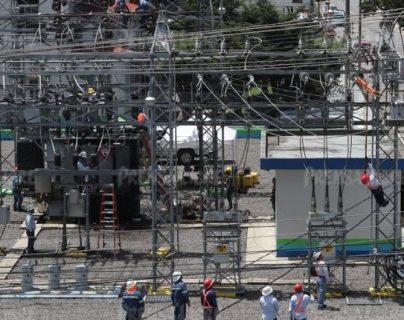 La subestación eléctrica del Inde en Xela registró una explosión e incendio en agosto del 2018. (Foto, Prensa Libre: Hemeroteca PL).