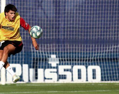 Joao Félix es la nueva estrella del Atlético de Madrid. (Foto Prensa Libre: Twitter @Atleti)