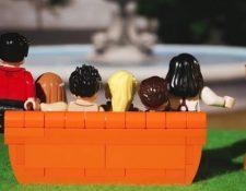 """Friends"" continúa ganando seguidores y LEGO crea colección inspirada en esa serie. (Foto Prensa Libre: Lego)"