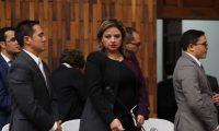 El abogado Luis Lam (izquierda) acompañó a la canciller Sandra Jovel en caso de embajador de Suecia. (Foto Prensa Libre: Hemeroteca PL)