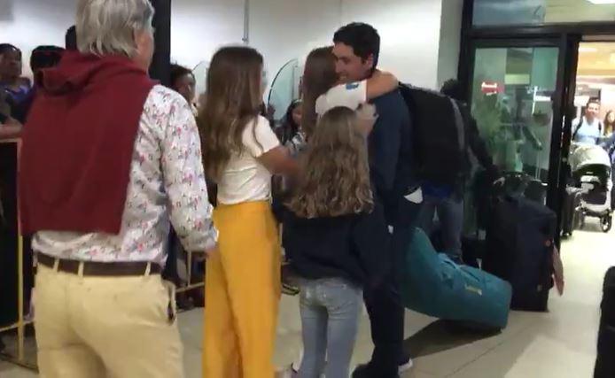 El bicampeón panamericano Juan Maegli regresa al país lleno de gloria