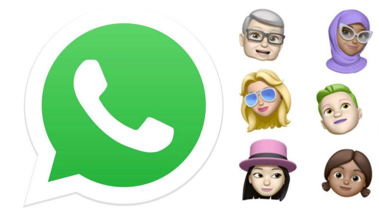 Los memojis se podrán compartir en WhatsApp. (Foto Prensa Libre: WABetaInfo)