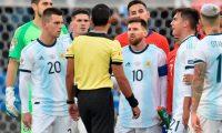 El delantero argentino Lionel Messi llamó corrupta a la Conmebol. (Foto Prensa Libre: Hemeroteca PL)