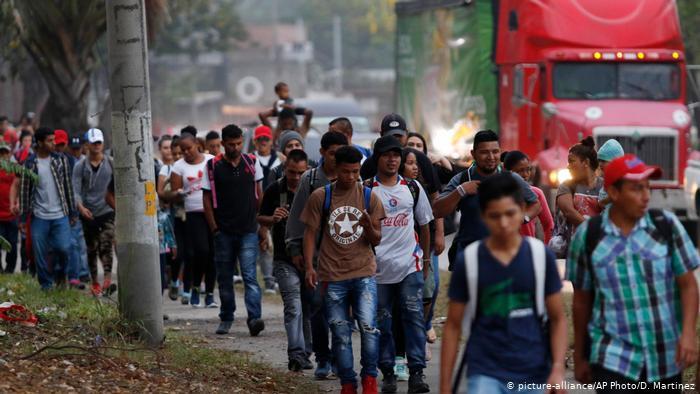 Según el presidente, 30.000 migrantes han cruzado Honduras rumbo a EE. UU. en 2019 y podrían ser 70.000 a fin de año.