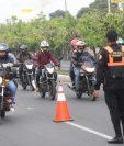 Las motocicletas representan el 40% del parque vehicular activo, con 1.4 millones de unidades, según el Registro Fiscal de Vehículos de la SAT. (Foto Prensa Libre: Hemeroteca)