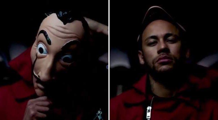 """Neymar aparecerá en los capítulos 6 y 8 de la tercera temporada de """"La Casa de Papel"""". (Foto Prensa Libre: Netflix)"""