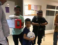 """Niño guatemalteco secuestrado por """"Los Zetas"""" en México se reencuentra con familiares"""