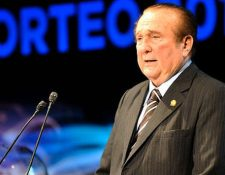Nicolás Leoz, expresidente de Conmebol. (Foto: AFP)