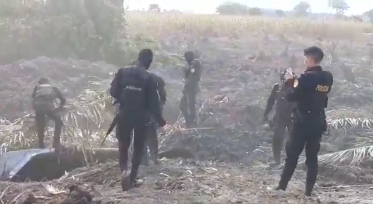 Hallan 3 pistas aéreas clandestinas utilizadas por narcotráfico en Guatemala