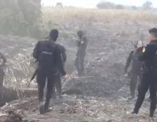 Las pistas clandestinas descubiertas eran utilizadas para el aterrizaje de narcoavionetas. (Foto Prensa Libre: Video PNC)
