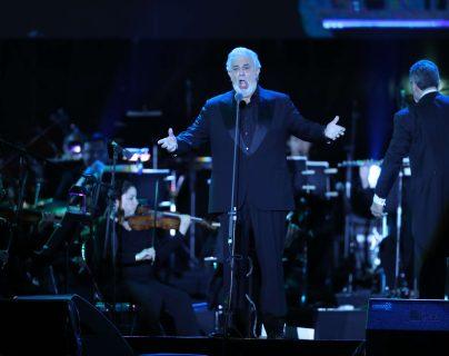 En mayo de 2018, el tenor español Plácido Domingo se presentó en Guatemala. (Foto Prensa Libre: Keneth Cruz)