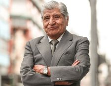 El actor guatemalteco Raymundo Coy falleció a los 74 años. (Foto Prensa Libre: Keneth Cruz)