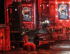 """Ricardo Arjona inició en mayo del 2017 la gira """"Circo Soledad"""", con las primeras fechas en Toluca, México. (Foto Prensa Libre: Keneth Cruz)"""