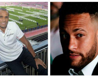 Rivaldo desea que Neymar encuentre un club que le permita ser feliz. (Foto Prensa Libre: Hemeroteca PL)