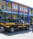 Fachada de la municipalidad de Puerto San José, Escuintla. (Foto Prensa Libre: Hemeroteca PL)
