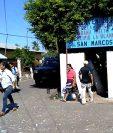 Los pobladores de La Blanca, San Marcos, emitieron su voto. (Foto Prensa Libre: Alex Coyoy)