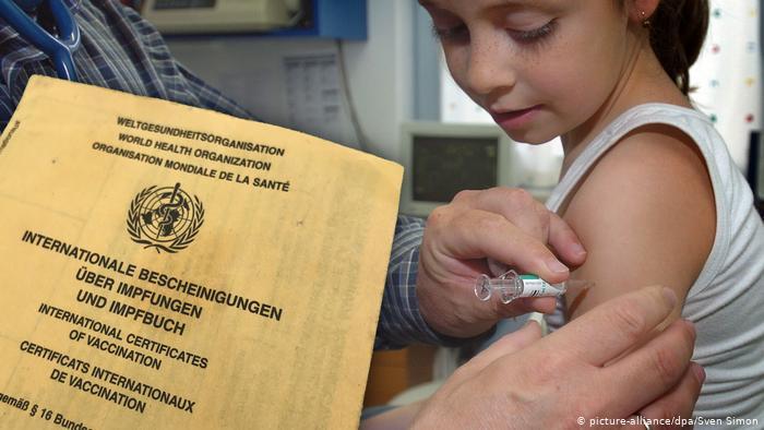 El sarampión resurge con fuerza en Europa. (picture-alliance/dpa/Sven Simon)