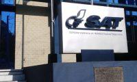 El detenido trabajaba en la Sede Regional Sur de la SAT. (Foto Prensa Libre)