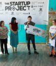 Gabriel Paredes con su marca HRSTK fue el ganador del Startup Project que organiza Moda País. (Foto Prensa Libre: Cortesía)