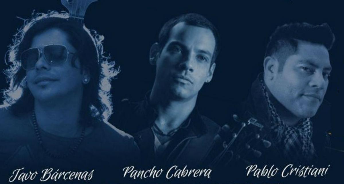 """Tavo Bárcenas, Pancho Cabrera y Pablo Cristiani, ofrecerán un show denominado """"Historias de terna""""."""