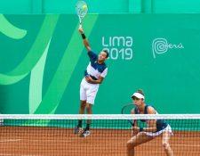 Wilfredo González y Andrea Weedon vencieron a la pareja de República Dominicana. (Foto COG).