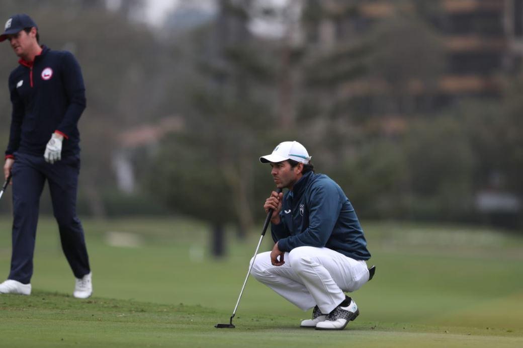 José Toledo experimenta el placer de retornar a los campos de golf