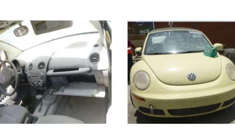 Los vehículos para donación se encuentran en las instalaciones de Chiquita que se constituye en el Depósito Aduanero Temporal Autorizado en Puerto Barrios, Izabal. (Foto Prensa Libre: Cortesía SAT)