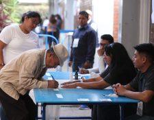 Las juntas electorales departamentales tienen hasta el viernes para realizar sus audiencias de revisión. (Foto Prensa Libre: Hemeroteca PL)