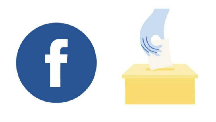 Facebook habilita opción sobre el proceso electoral en Guatemala. (Foto Prensa Libre: Facebook)
