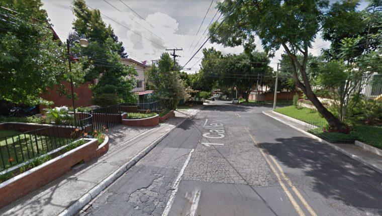 La estructura operaba en zonas 13, 14, 15 y 16 de la ciudad capital. (Foto Prensa Libre: Google Maps)