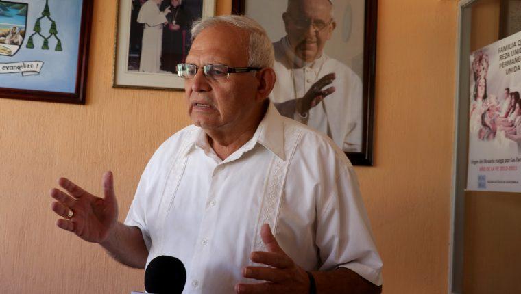 Álvaro Ramazzini Imeri, fue nombrado cardenal por el papa Francisco. (Foto Prensa Libre: Mike Castillo)