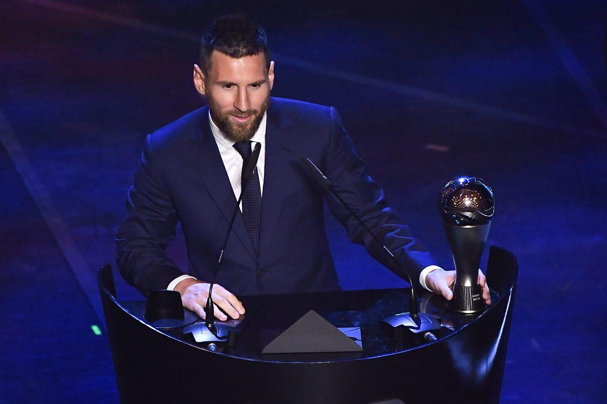 Lionel Messi gana el premio The Best al mejor jugador de la Fifa del 2019