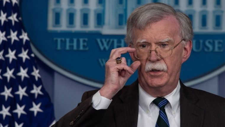 John Bolton es un viejo html5-dom-document-internal-entity1-quot-endhalcónhtml5-dom-document-internal-entity1-quot-end de gobiernos republicanos en Estados Unidos.