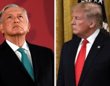 El gobierno de AMLO destacó su acuerdo migratorio con EE.UU. como un gran logro por haber evitado los aranceles anunciados por Trump. GETTY IMAGES