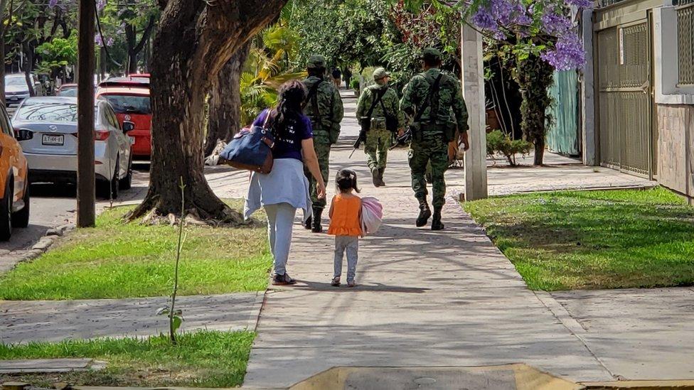 """Guadalajara, la ciudad en México donde """"puedes sentir el miedo"""" en el ambiente"""