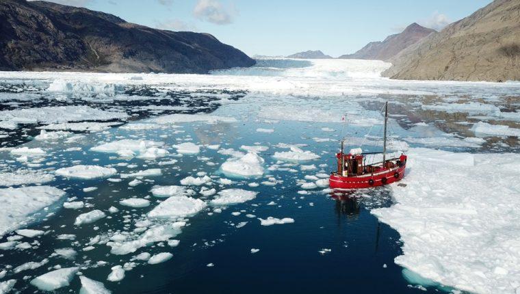 En los últimos años se han perdido cientos de miles de millones de toneladas de hielo en Groenlandia.