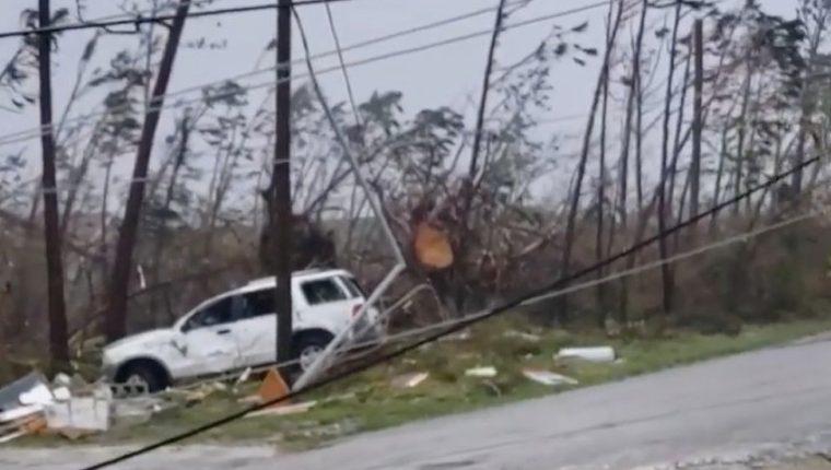 Las Islas Ábaco sufrieron particularmente el paso del huracán.
