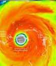 El huracán Dorian se mantuvo durante más de 18 horas estacionario sobre Bahamas.