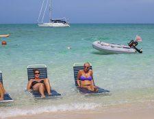 La mayoría de los turistas que llega a Bahamas es estadounidense.
