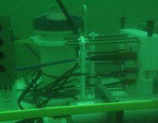 El observatorio submarino fue instalado a fines de 2016 a 22 metros de profundidad sobre el lecho del mar Báltico.