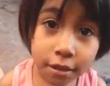 """La niña conocida como """"calcetitas rojas"""" será registrada tras de su muerte con el nombre de Guadalupe."""